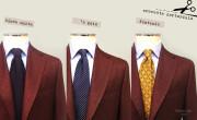 cravatta sartoriale 3 modelli e 3 fantasie