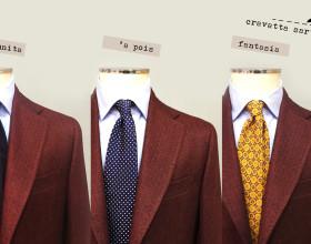 La cravatta sartoriale